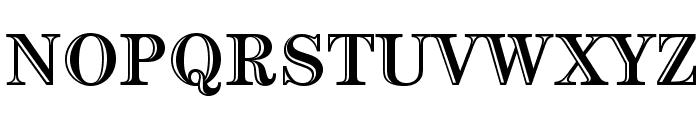 CenturyStd-HandtooledBold Font UPPERCASE