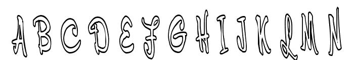 Cerbature Font UPPERCASE