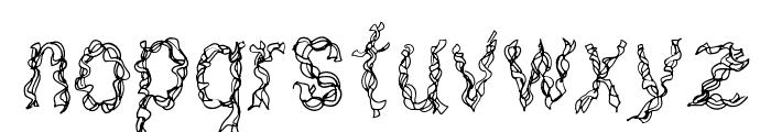 CF Ribbon Regular Font LOWERCASE