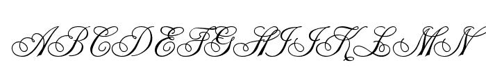 Champagne Cyrillic Font UPPERCASE