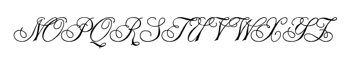 Champagne Font UPPERCASE