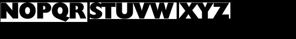 Chantilly Serial Heavy Font UPPERCASE