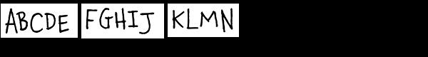 Chauncy Pro Font UPPERCASE