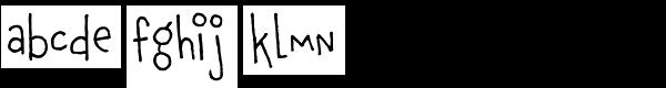 Chauncy Pro Font LOWERCASE