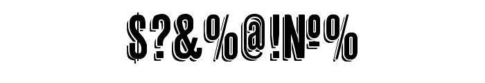 Cheap Pine Regular Font OTHER CHARS
