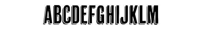 Cheap Pine Regular Font UPPERCASE
