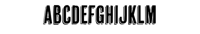 Cheap Pine Regular Font LOWERCASE