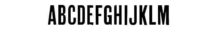Cheap Pine Sans Font UPPERCASE