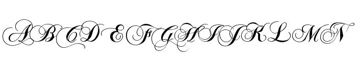 ChopinScript Font UPPERCASE