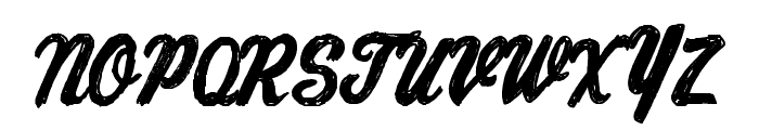 ChronicDelivery Font UPPERCASE