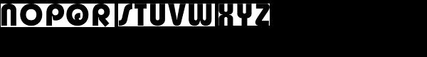 Churchward Design Bold Font UPPERCASE