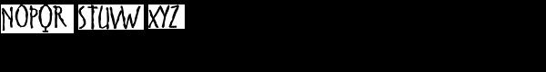 Cinnamon Regular Font UPPERCASE