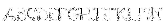Рыболовные шрифты