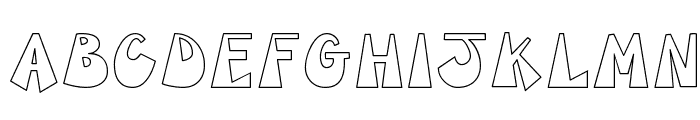 CK Groovy Font LOWERCASE