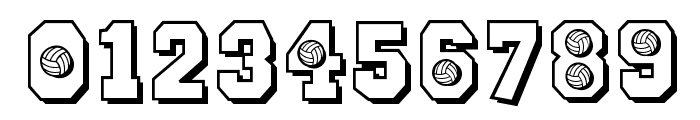CK Sports Volleyball Font OTHER CHARS