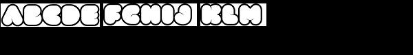 Clou Light Font UPPERCASE