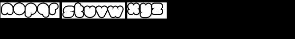 Clou Light Font LOWERCASE