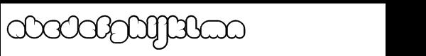 Clou Std Light Regular Font LOWERCASE