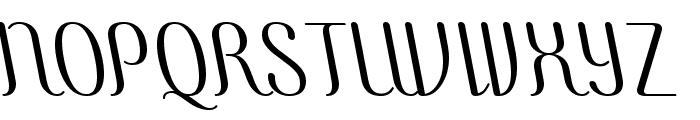 COM4t Ascripta Lean Font UPPERCASE