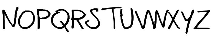 CoertSchriftRomaans Font UPPERCASE