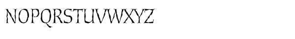 Cold Mountain Lx Regular Font UPPERCASE