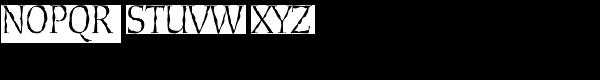 Cold Mountain Sx Regular Font UPPERCASE
