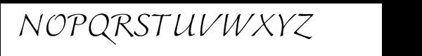 Colombine™ Com Light Font UPPERCASE