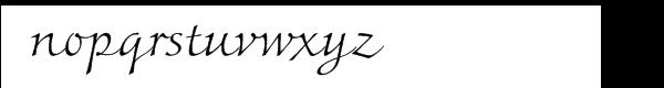 Colombine™ Com Light Font LOWERCASE