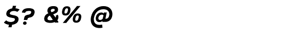 Corbert Extra Bold Italic Font OTHER CHARS