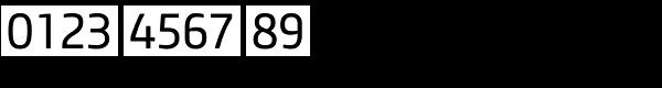 Core Sans M SC 45 Regular Font OTHER CHARS