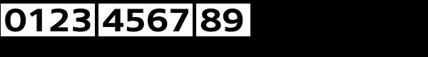 Core Sans N 63 Ex Bold Font OTHER CHARS