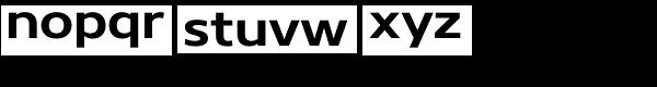 Core Sans N 63 Ex Bold Font LOWERCASE