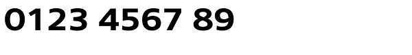 Core Sans N SC 63 Ex Bold Font OTHER CHARS