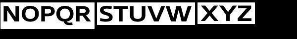 Core Sans N SC 63 Ex Bold Font UPPERCASE