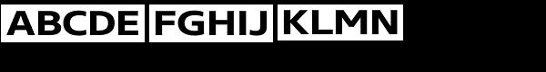 Core Sans N SC 63 Ex Bold Font LOWERCASE