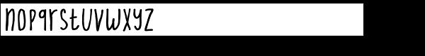 Cornelius Font LOWERCASE