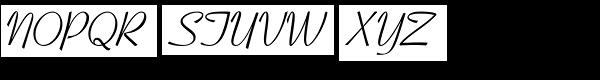 Coronet Com Regular Font UPPERCASE