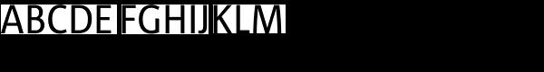 Corpid SemiCond Regular Font UPPERCASE