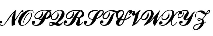 CounselorScript Medium Font UPPERCASE