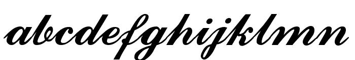 CounselorScript Medium Font LOWERCASE