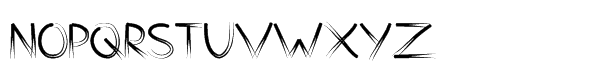Counterfact Regular Font UPPERCASE