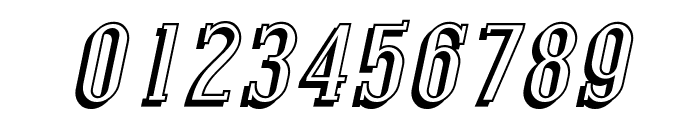 Covington SC Shadow Italic Font OTHER CHARS