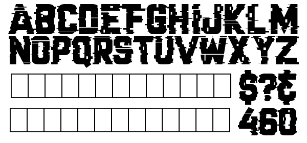 Cracked Code free Font - What Font Is