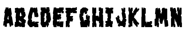 Crakoom! Font LOWERCASE