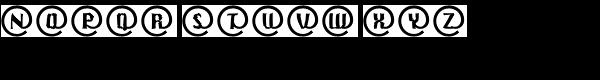 Crash Mail EF Regular Font LOWERCASE