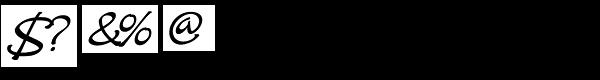Crostini Font OTHER CHARS
