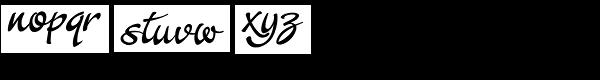Crostini Font LOWERCASE