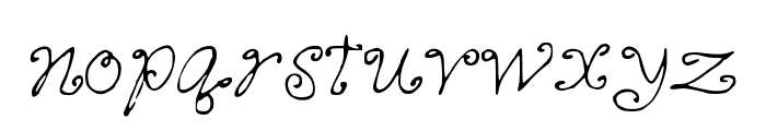 CutieQueues Font LOWERCASE