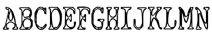 Cyanide Breathmint Font UPPERCASE