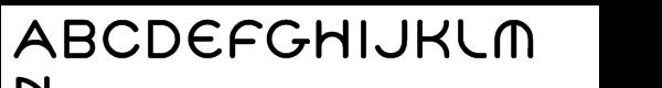 Cyclo Bold Font UPPERCASE